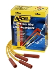 SuperStock V8 Spark Plug Wire Set Yellow