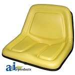 John Deere Replacement High Back Seat, yellow